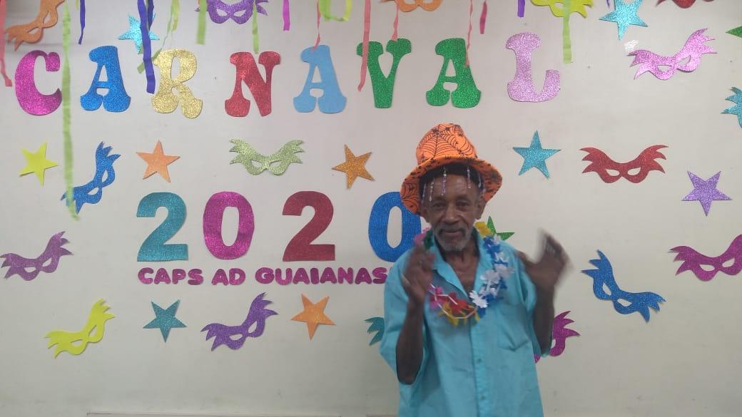 Carnaval no CAPS AD Guaianases